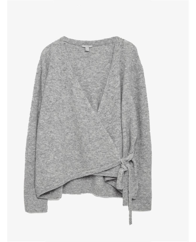 COS Wrap-over cardigan $117
