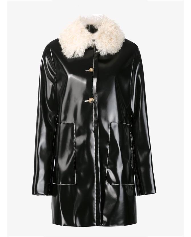 Proenza Schouler shearling collar coat $6,420