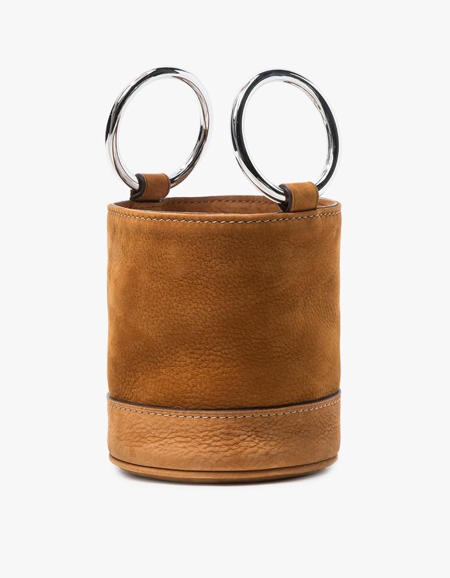 Simon Miller Bonsai Bag in Malt Nubuck $390
