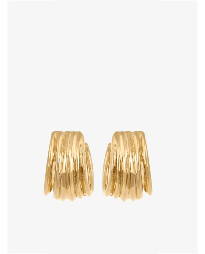 Aurelie Bidermann Ariane gold-plated earrings $201