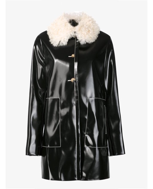 Proenza Schouler shearling collar coat $6,420