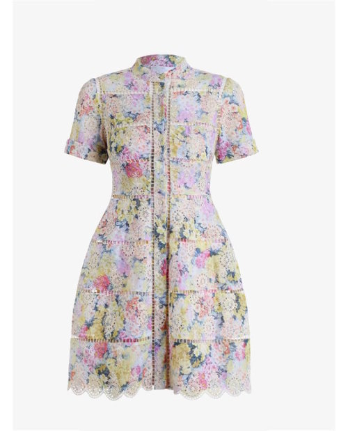 Zimmermann Valour Hydrangea Bell Dress $695