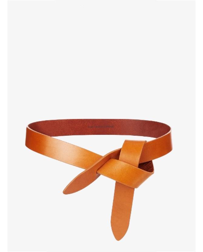 Isabel Marant Etoile Lecce leather knot waist belt $106
