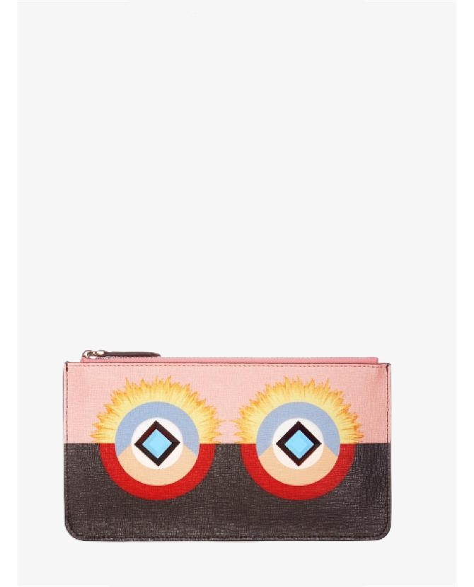 Fendi Bag Bugs leather pouch $287