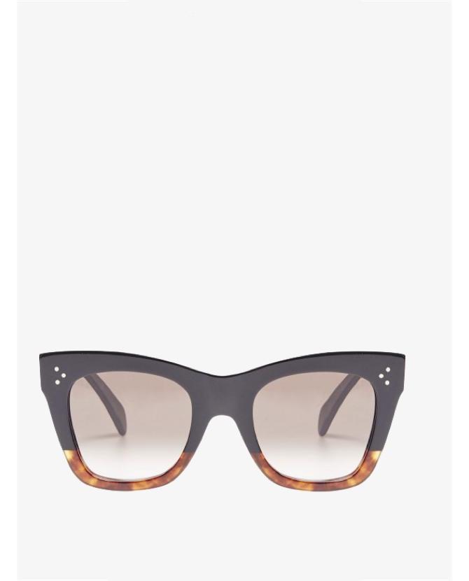 Celline Catherine Tortoiseshell Sunglasses $460