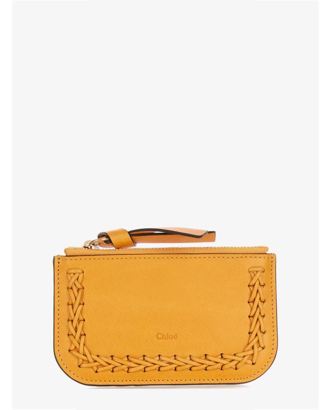 Chloe Hudson leather cardholder $225