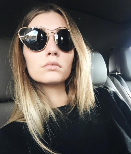 Miu Miu Cat-ear shaped sunglasses (as seen on @chiara_grazia_it) $451