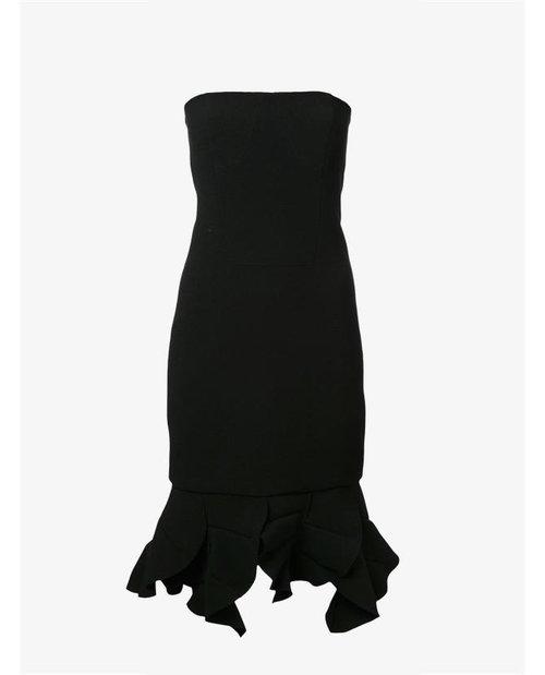 Christopher Esber 'Redux' ruffle leaf mini dress $550