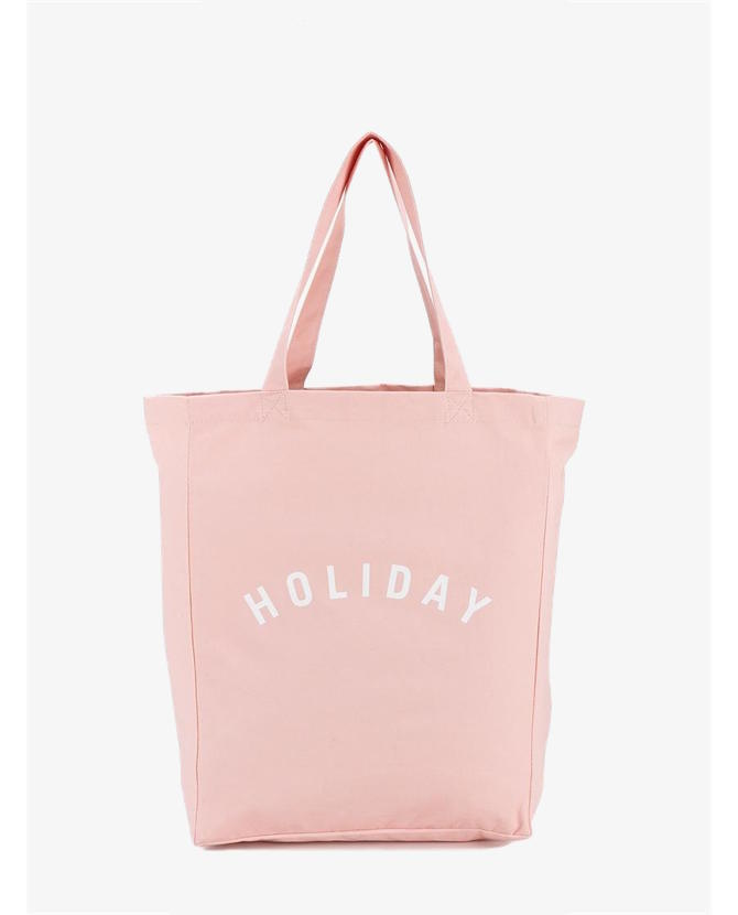 Holiday Canvas 'Holiday' Logo Tote $37