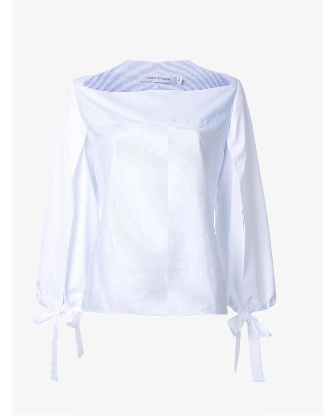Christopher Esber 'Horizontal Neck Open Slit Tie' top $490