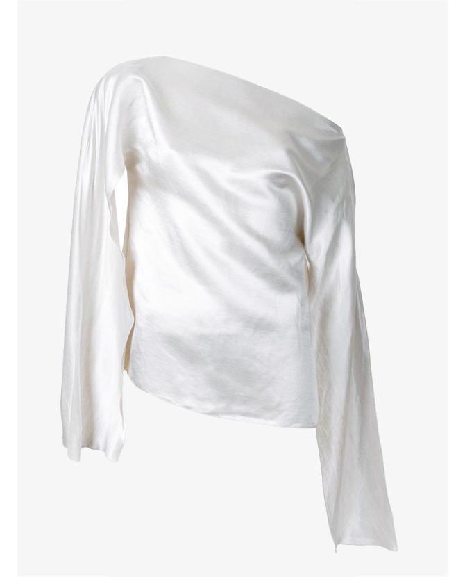 Christopher Esber 'Ilona' open sleeve blouse $590
