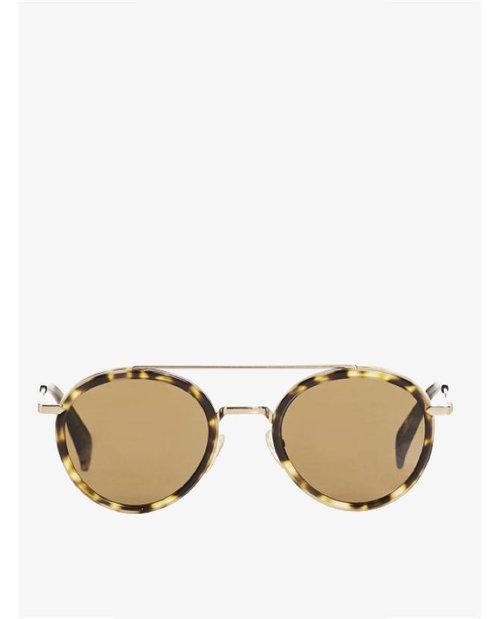 Celine Mia Round Aviator Sunglasses $620