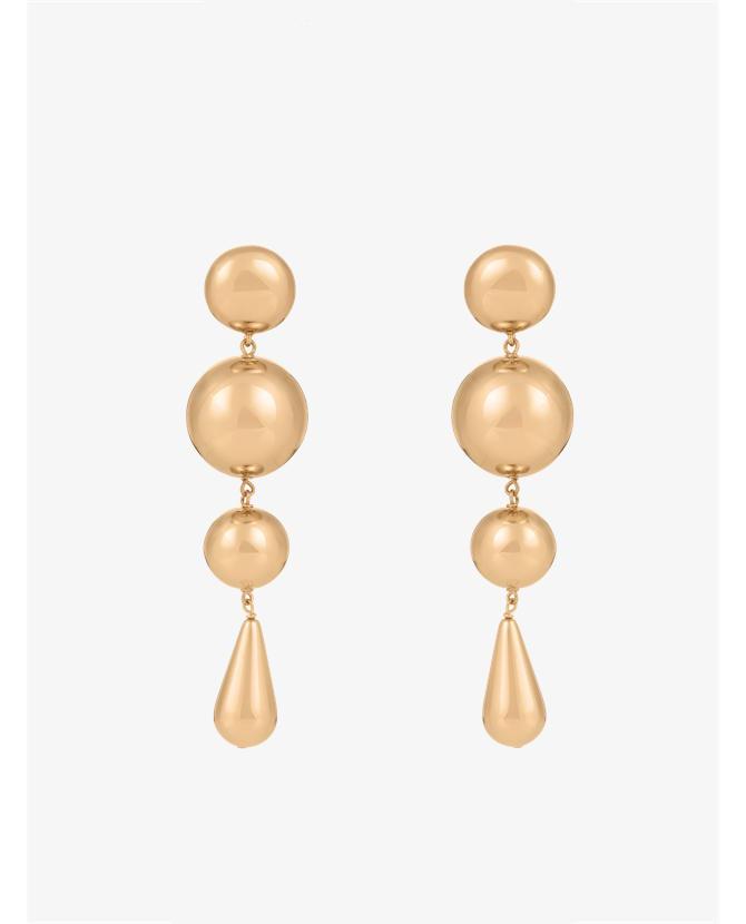 J.W.Anderson Multi-sphere drop earrings $368