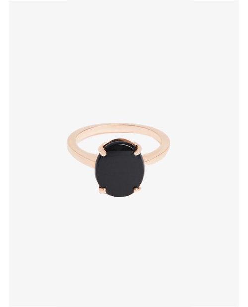 Bassike Fine jewellery oval cut onyx ring $70-