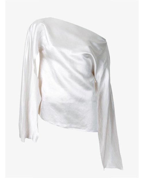 Christopher Esber 'Ilona' open sleeve blouse $590
