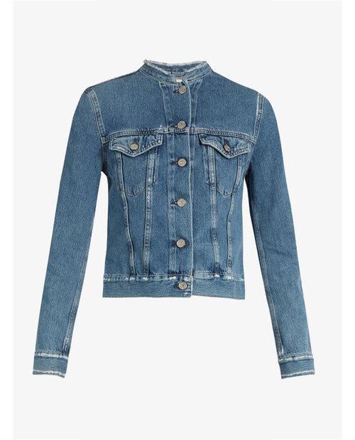 ACNE Studios Top distressed denim jacket $540