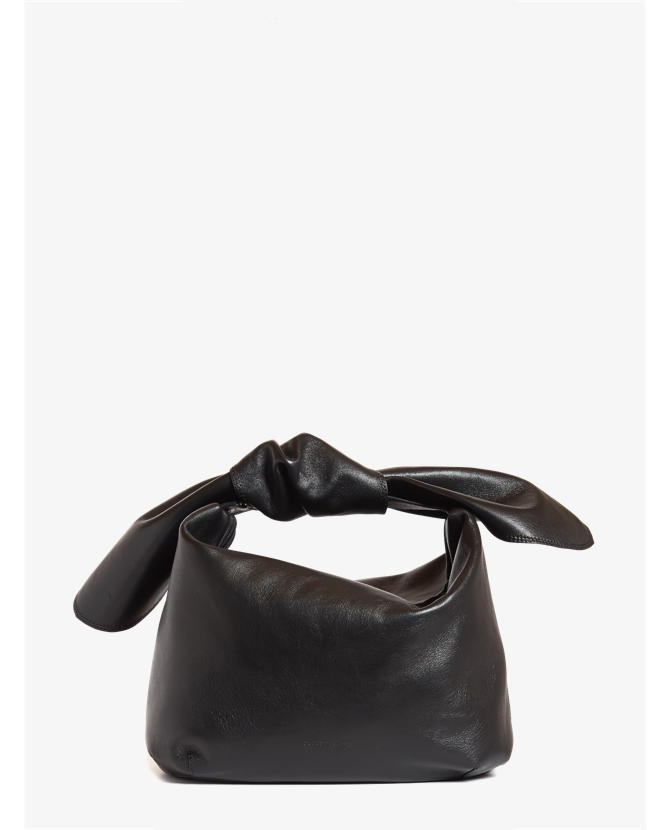 Simone Rocha Knotted leather clutch $812