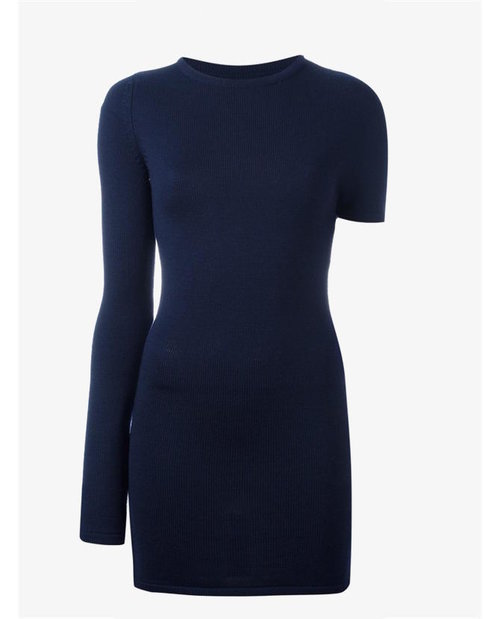 Jacquemus One shoulder dress $484