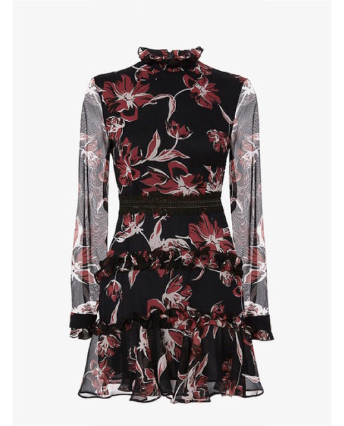 Nicholas Floral print dress $900