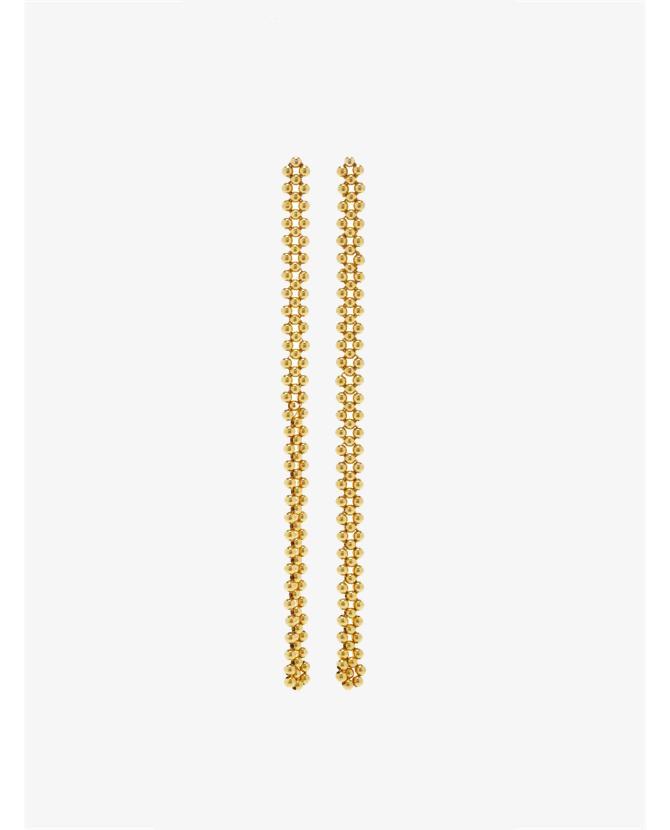 Magdalena Frackowiak Jewelry Beaded Earrings X $1,135