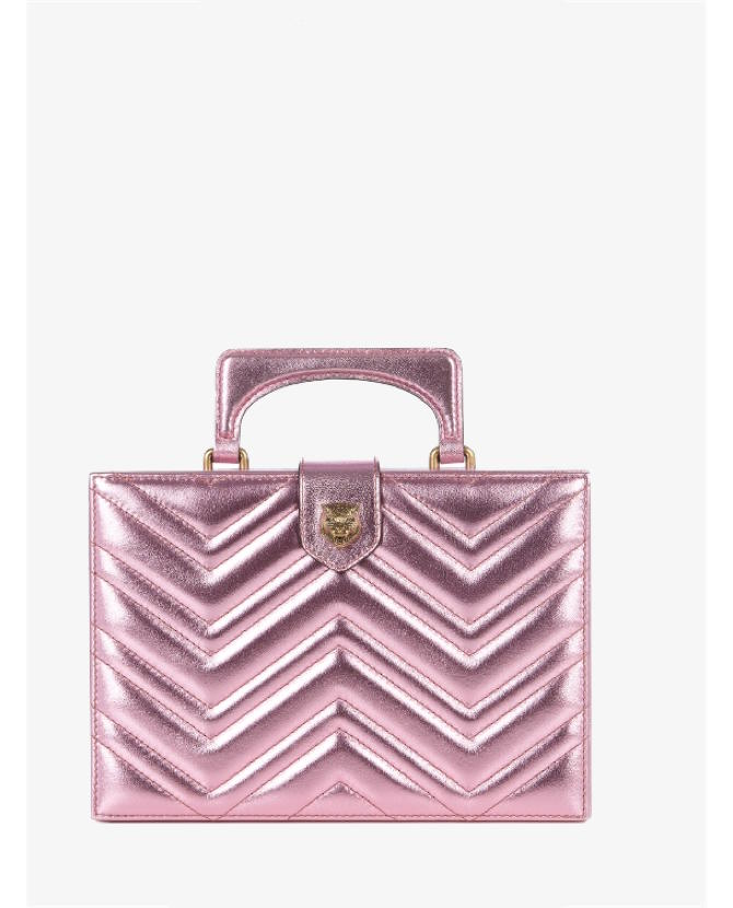 Gucci Broadway metallic-leather clutch $2,499