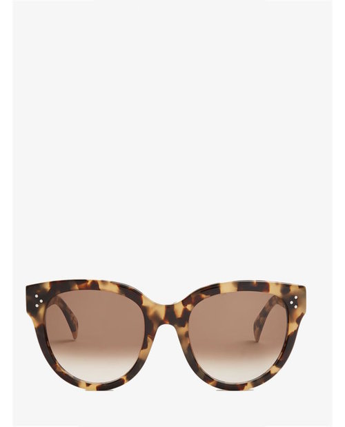 Celine Cat-eye acetate sunglasses $337