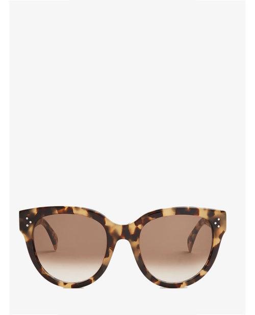 Celine Cat-eye acetate sunglasses $337