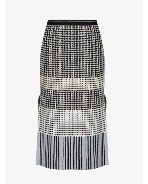 Proenza Schouler Geometric-knit wool skirt $1,287