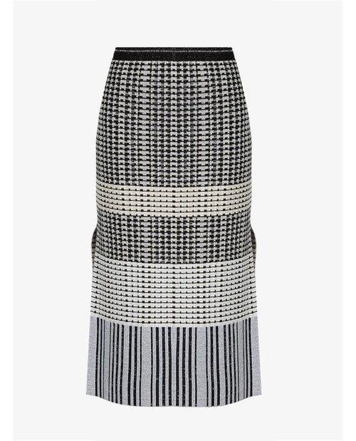 Proenza Schouler Geometric-knit wool skirt $1,287