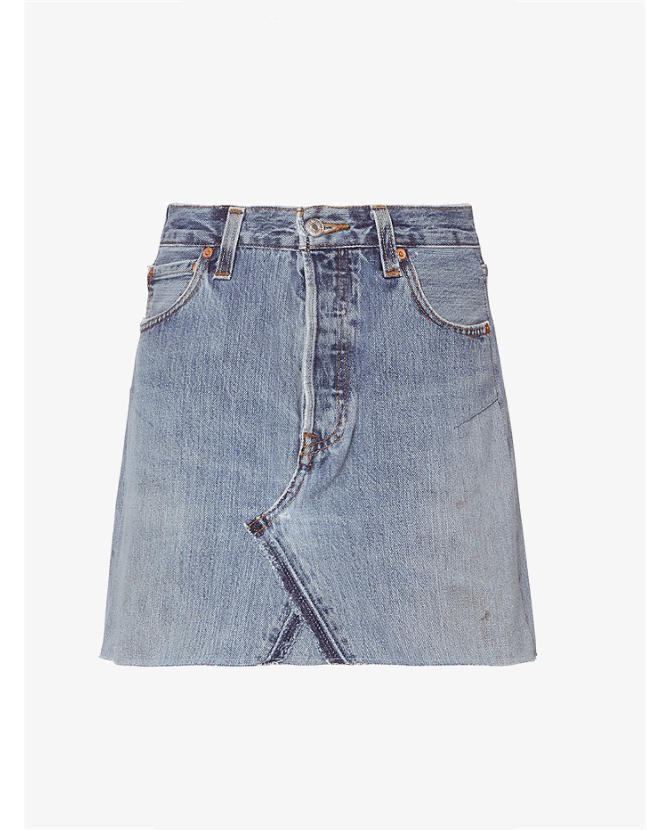 Re Done Jean Skirt $332