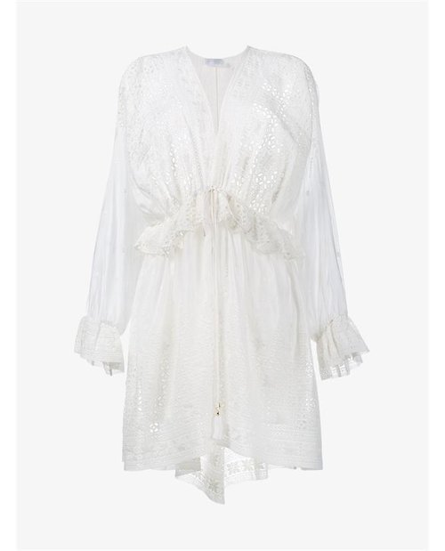Zimmermann Harlequin Broderie Anglaise Dress $725