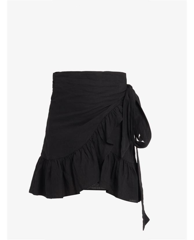 Isabel Marant Etoile Dempster ruffled mini skirt $390