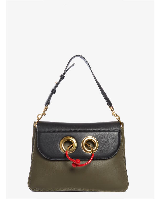 J.W.Anderson Pierce medium leather shoulder bag $2,330