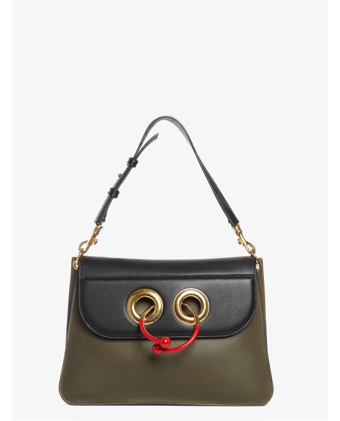 J.W.Anderson Pierce medium leather shoulder bag $2,330