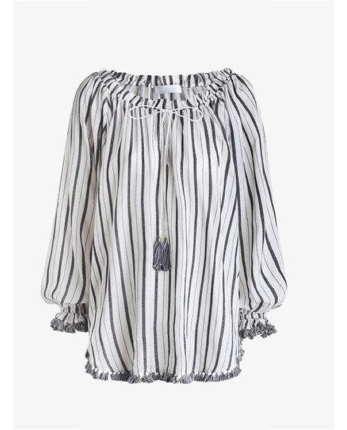 Zimmermann Aerial Woven Draw Top $395