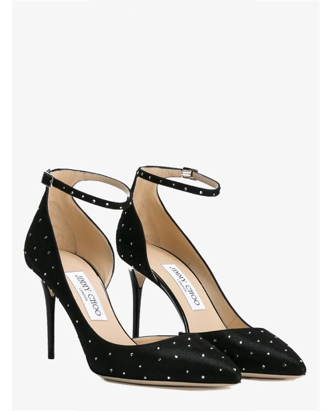 Jimmy Choo 'Lucy' Crystal-Embellished Pumps $1,050