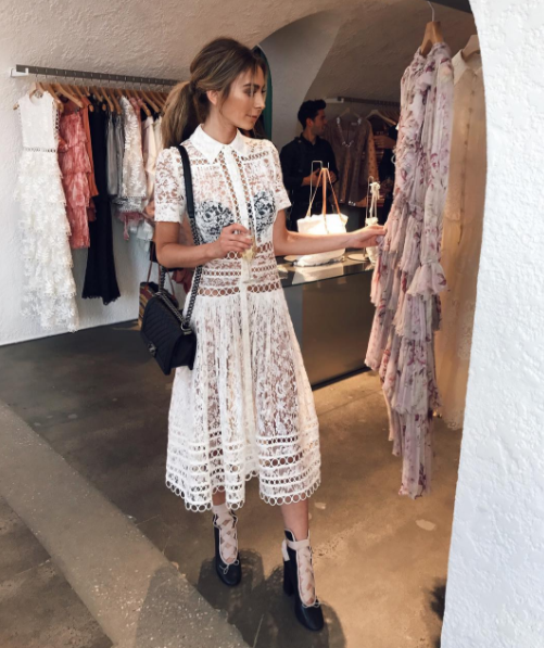 Zimmermann Winsome Breeze Lace Dress(as seen on @nadiabartel) $2,500