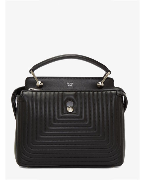 Fendi Black Quilted Dotcom Click Bag $2,215