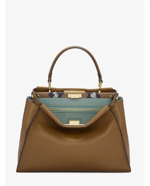 Fendi Brown Regular Peekaboo Bag $3,605