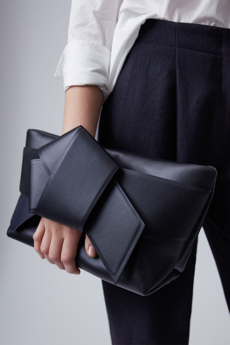 ACNE Studios Musubi Clutch black $1,700