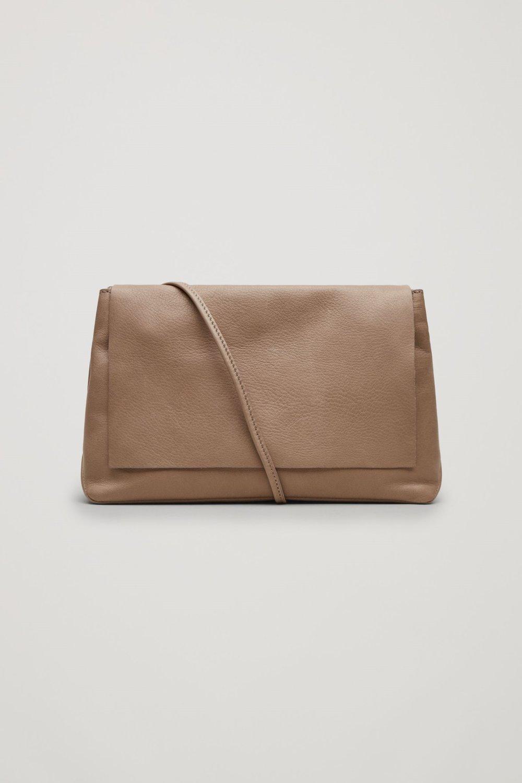 COS Soft leather shoulder bag $118