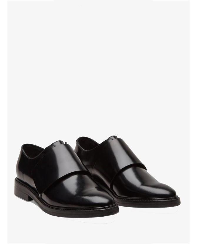COS Velcro Black Brogue Shoes $214