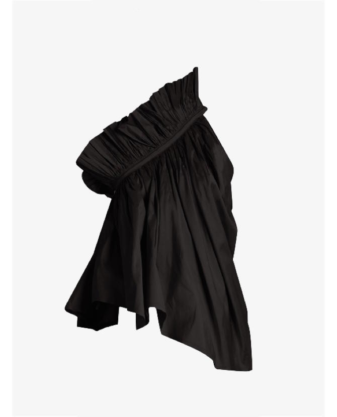 Marques'almeida One-shoulder silk-taffeta top $486