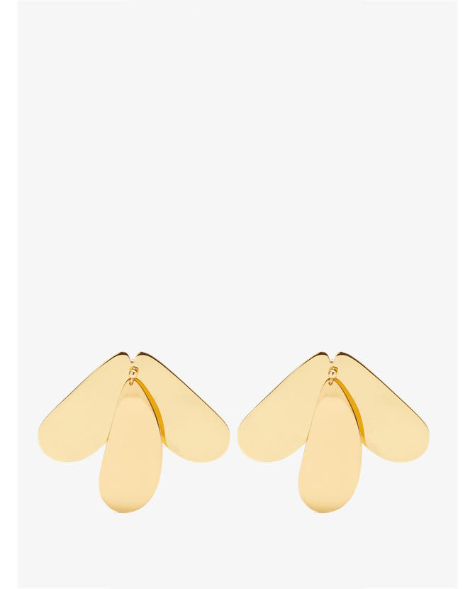 Ellery Greed gold-plated earrings $305