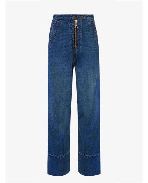 Ellery Xylophone wide-leg jeans $820