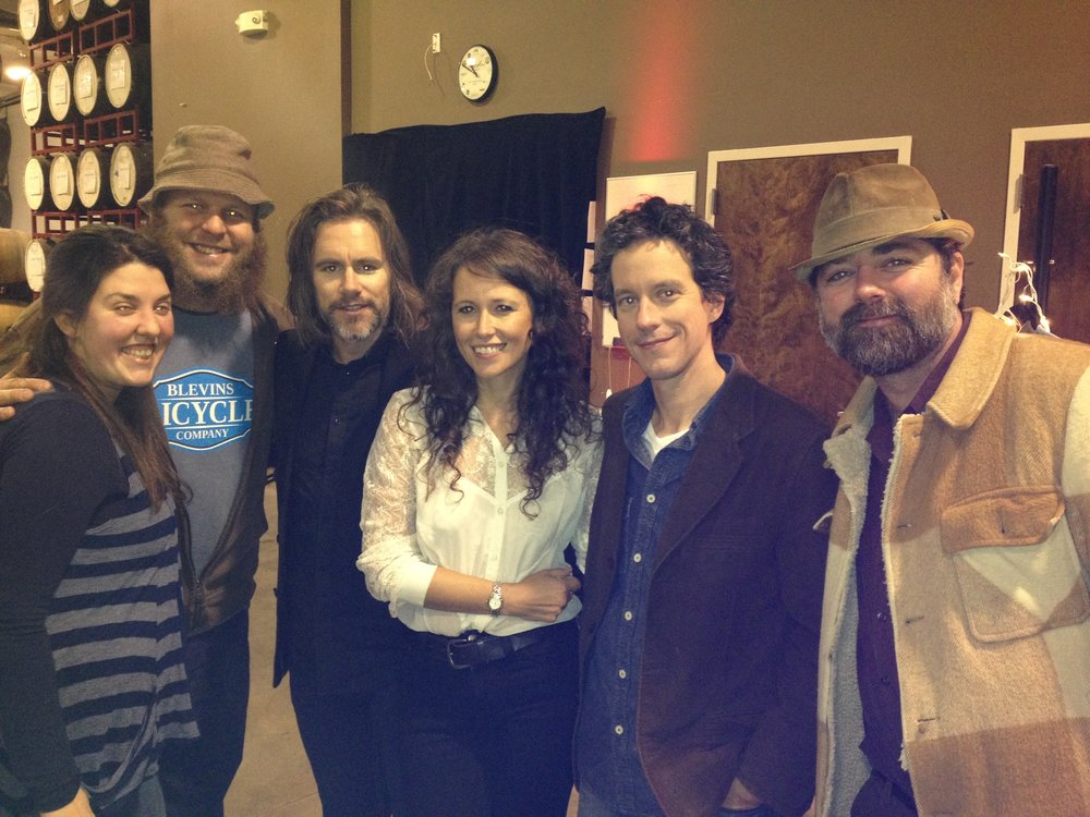 Hanging with Sarah Guthrie & Johnny Irion