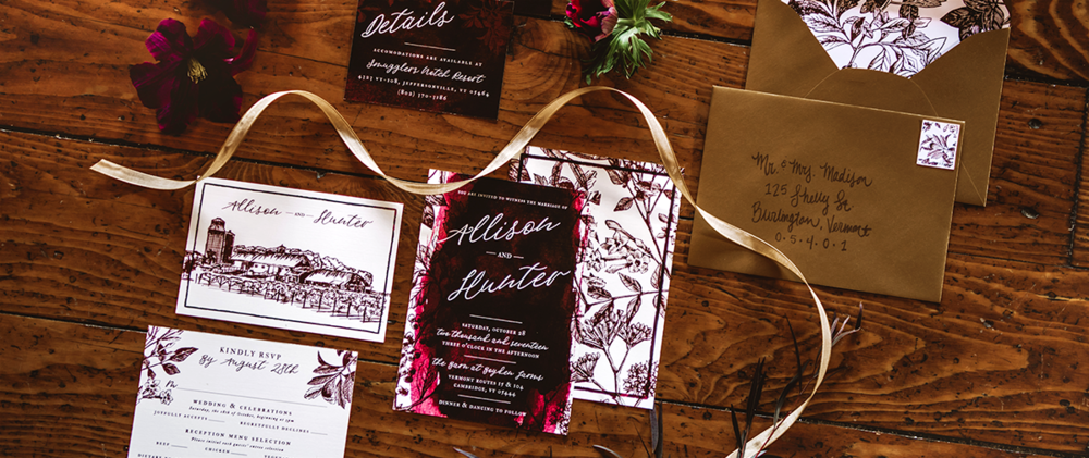 // Grade-A, Easton Invitation Suite