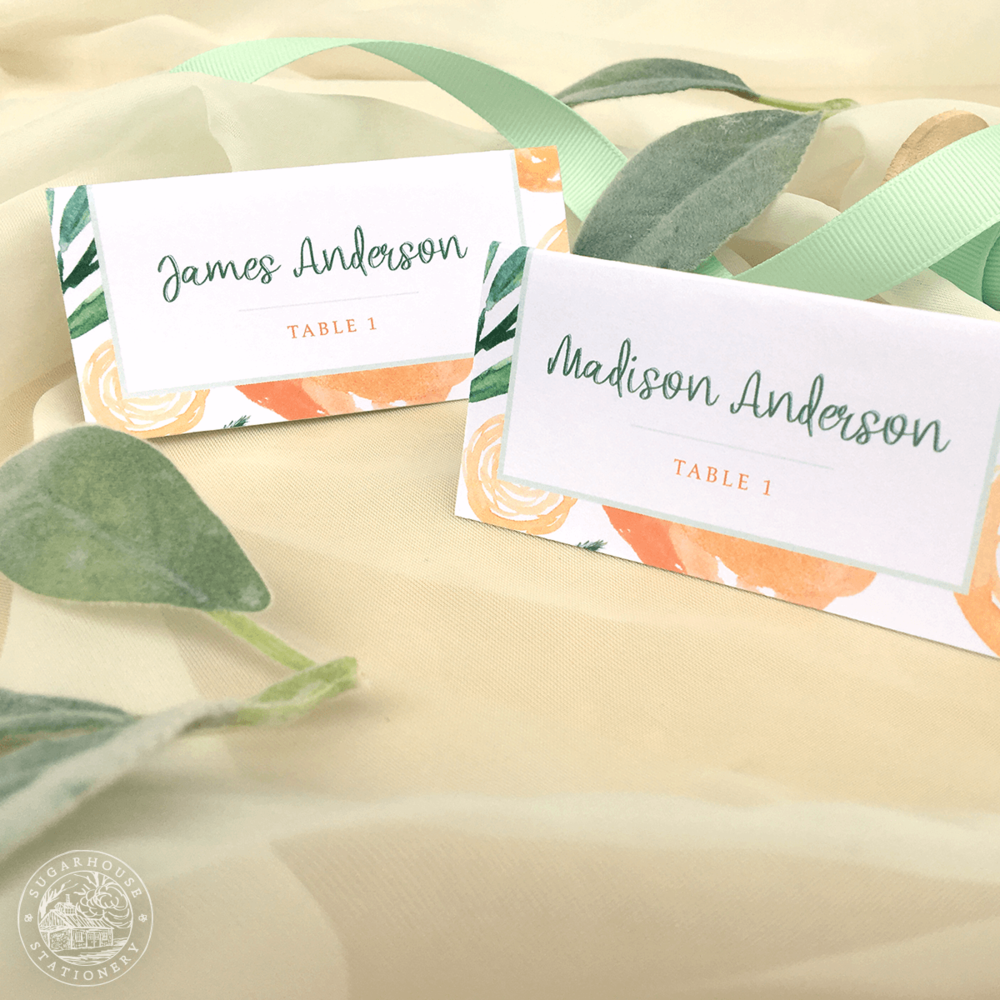 Burke Place Cards