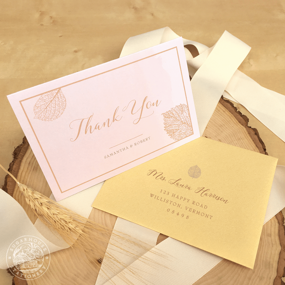 Acadia Thank You Cards