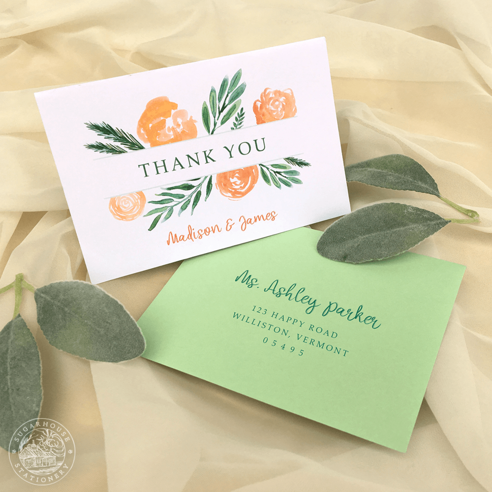 Burke Thank You Cards